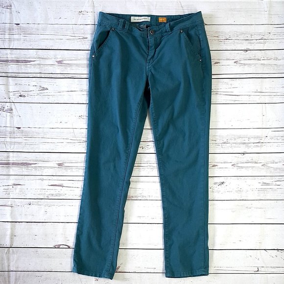 Anthropologie Pants - Anthro Pilcro and the Letterpress teal chino pants